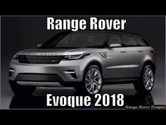 New Range Rover Evoque 2018 Review And Specs - YouTube