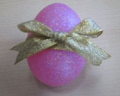 Glitter Easter Egg {tutorial}