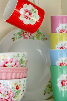 colorful cottage style by Cath Kidston
