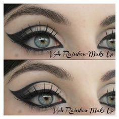 Cat Eyes By Vanessa A ❤ liked on Polyvore featuring beauty products, makeup and eyes