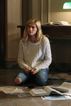 "I love her ""organized mess""! Eleanor ""Ellie"" Bishop - NCIS' newest agent, Bishop (Emily Wickersham), has a unique way of processing information. Number nine in CBS poll for ""Talk nerdy to me"""