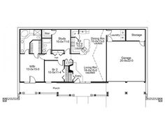 eplans country house plan earth berm home with style 1480 square feet and 2 - Small Earth Berm Home Plans