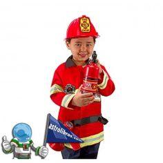 El mejor disfraz infantil de bombero que hemos visto.
