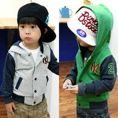 2014 autumn and winter boys clothing baby child jacket with a hood outerwear wt 0193