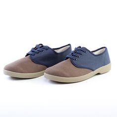 Two-Tone Oxford Shoe Navy, $20, now featured on Fab.