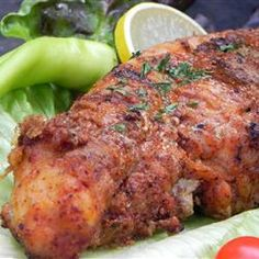 Cajun Baked Catfish Recipe - Catfish is considered a healthy food if it's not deep-fried. This looks tasty. Creole Recipes, Cajun Recipes, Seafood Recipes, Dinner Recipes, Cooking Recipes, Healthy Recipes, Healthy Food, Pork Recipes, Delicious Recipes