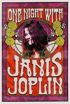 Una noche con Janis Joplin.