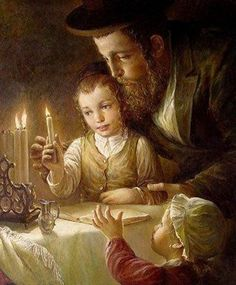 Jewish tradition to light the Sabbath candles.