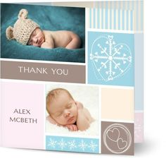 Baby Boy Christening Thank You Cards $1.19 www.mamadoo.com.au #mamadoo #personalisedcards #christeningthankyou