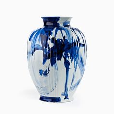 One Minute Delft Vase