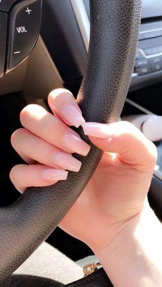 nails light pink acrylic - nails light pink ` nails light pink glitter ` nails light pink acrylic ` nails light pink design ` nails light pink coffin ` nails light pink short ` nails light pink gel ` nails light pink and gold Acrylic Nails Natural, Best Acrylic Nails, Acrylic Nail Designs, Natural Color Nails, Square Acrylic Nails, Clear Acrylic, Aycrlic Nails, Nude Nails, Hair And Nails