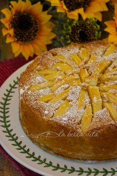 Italian Apple Torta (Torta di Mele) | La Bella Vita Cucina