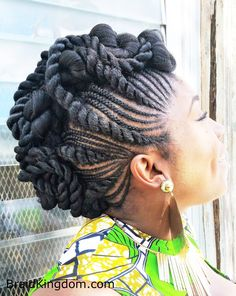 Different braids with a twist