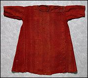 Child's tailored wool tunic, Egypt, c. 9th century