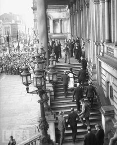 "Edward Prince of Wales ""David"" & Wallis Simpson, later Duke & Dutchess of Windsor, Visiting America again."