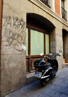 Calle de Arlaban. Barrio de Sol. Madrid 2015