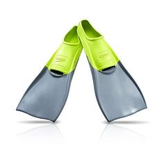 Speedo Unisex-Adult Swim Training Fins Rubber Long Blade Rubber swim fins ideal for swimming laps or snorkeling Orthopedic foot pockets for more comfortable long-term wear Long, curved fin blade translates light kick into forward thrust Each fin size corresponds with different tip color Available in sizes XXXS to XXL; imported Swim Fins, Swim Training, Youth Shoes, Snorkeling, Blade, Kicks, Loafers, Teaching, Pockets