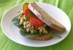 Kikkererwten-'tonijn'-salade | Vegan Challenge