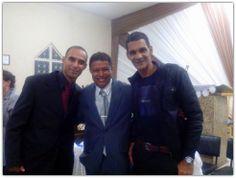 David Nascimento, Pr. Daniel Silva e Pr. Dario Silva