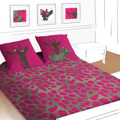 Google Image Result for http://www.goaltus.com/images/Hot-Pink-Giraffe-Cute-And-Colorful-Kids-Beddings-With-Animals-Theme-From-SeleneGaia-9.jpg