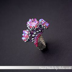 You can find the pattern of rings in my little Etsy Shop.....