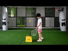 Air Tennis Training Machine adjusts the wind speed by manually adjustable knob. Suitable for kindergarten, primary school, early education center and so o. Education Center, Early Education, Tennis Trainer, D1, Primary School, Training, Upper Elementary, Early Childhood Education, Early Years Education