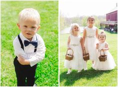 Outfit inspiration for ring bearers and flower girls!
