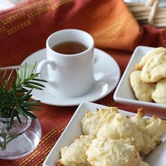 Orange & Coconut Tea Cookie — Punchfork