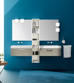 Aquo Collection. The #bathroom according to Scavolini. #Scavolini