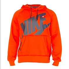 Nike Pullover Worn once. 100% polyester. Jersey material on the logo & inside of hood. Small marker stain inside of the pullover where the sizing is.           PSA                                                                     No trades                                                                   Reasonable Offers are Accepted                             Depending on when you order, I will ship the same day or the next day Nike Jackets & Coats