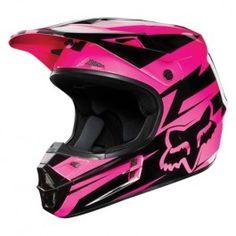 FOX V1 Costa Helmet, black/pink