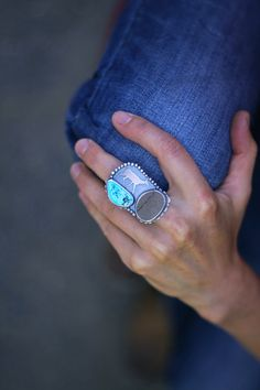 Small Collections Ring -- Stride