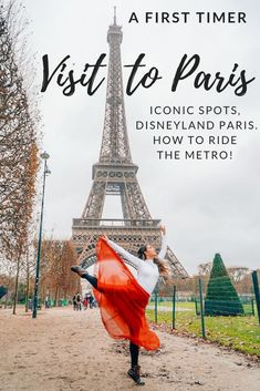 First time visiting paris? Don't forget to hit these iconic spots, Disneyland Paris tips, and helpful advice on how to ride the metro system!
