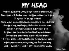 """""""My Head"""" #Creative #Art in #poetry @Touchtalent http://bit.ly/Touchtalent-p"""