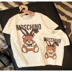 Bear Cartoon, Matches Fashion, Father And Son, Kids And Parenting, Outfit Of The Day, Sons, Luxury Girl, Lifestyle Clothing