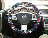 Breast Cancer Vera Bradley Steering Wheel Cover