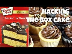 How to Replace the Eggs in a Box Cake Mix - Gretchen's Vegan Bakery Chocolate Mousse Cheesecake, Box Cake Recipes, Cake Hacks, Baked Alaska, Egg Free Recipes, Box Cake Mix, Moist Cakes, Vegan Dessert Recipes, Vegan Cake