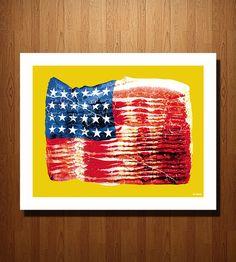 i pledge allegiance to the bacon