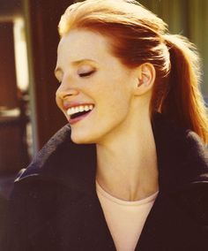 Jessica Chastain. The woman is amazing.