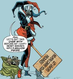 "lexieghrey: "" Harley Quinn in Holiday Special"