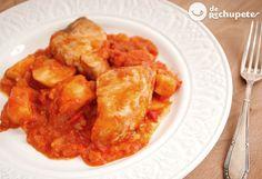 Un clásico de los meses de verano, el bonito del Norte con tomate, está #derechupete http://www.recetasderechupete.com/bonito-con-tomate/16936/ ¿Te animas?
