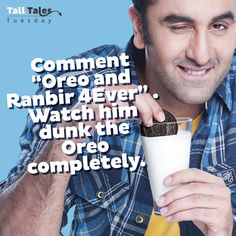 The taste you can't get out of your mind. Forever. #RanbirKapoor #Tuesday #TallTales
