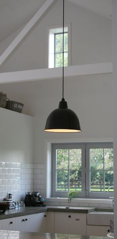 Check out these fantastic vintage baked enamel lightshades, typical of the retro industrial period. The exterior shades exhibit a slightly aged rustic. Ceiling Rose, Ceiling Fans, Exterior Shades, Vintage Baking, Cute House, Socket Set, Retail Space, Light Fittings, New Room