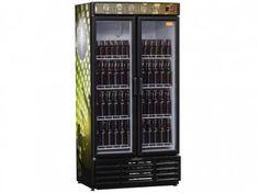 Cervejeira/Expositor Vertical 2 Portas 760L - Frost Free Gelopar GRBA-760PV com as melhores condições você encontra no Magazine Potiguarshop. Confira!