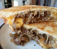 "The English Kitchen: ""Grilled Cheese"" Burgers & Cheeseburger Mac &…"