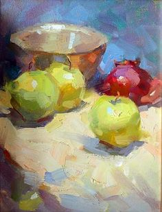 "Pintura retirada do Pinterest - Hou, Hai - ""Still Life"""