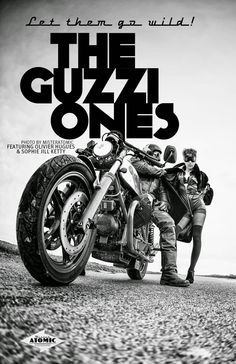 RocketGarage Cafe Racer: The Guzzi Ones