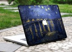 Macbook Full Stickers Mac Front Decals laptop by LisaDecalShop Macbook 15, Mac Pro, Laptop Cases, Laptop Skin, Game Room, Decals, Technology, Stickers, Bar