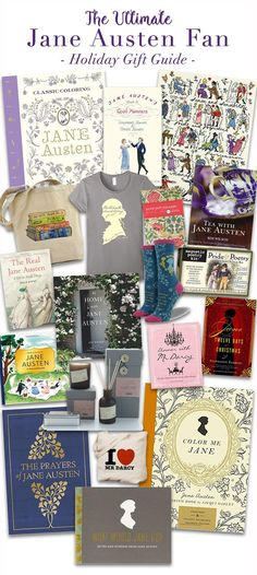 No matter if you are a die-hard Jane Austen fan or just are looking for a great gift idea for a hard-to-shop for loved one, this Ultimate Jane Austen  Holiday Gift Guide is full of wonderful Christmas gift ideas to make holiday shopping easier than ever this season!