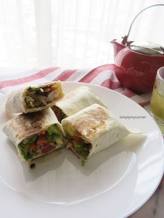 Healthy Chicken Wrap